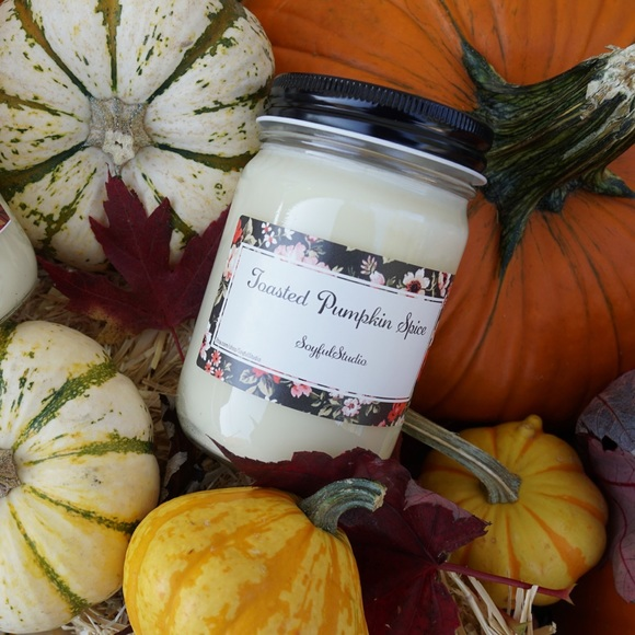 Other - Toasted pumpkin spice soy candle